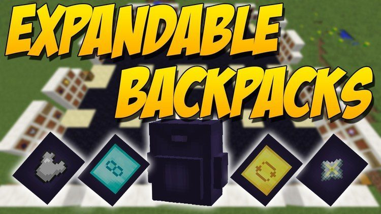 Expandable Backpack Mod logo