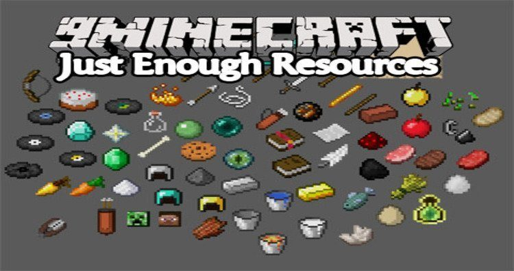 Just Enough Resource Mod 0