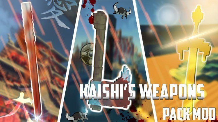 Kaishi's Weapon Pack Mod 0