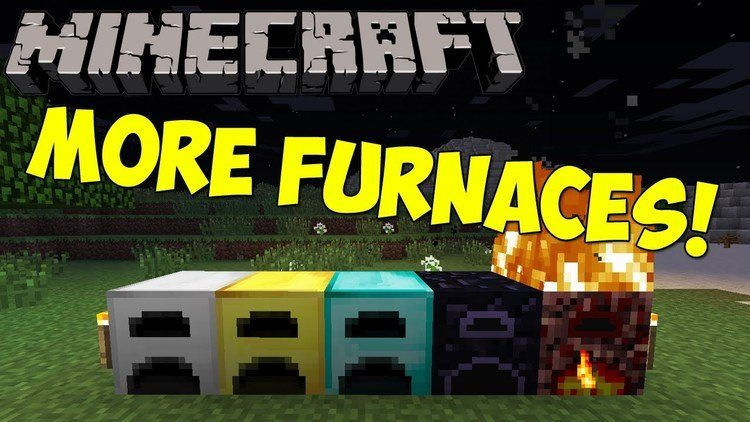 More Furnaces Mod