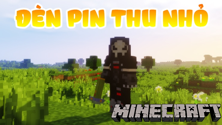 Đèn Pin Thu Nhỏ Resource Pack Logo