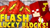 Flash Lucky Block mod logo