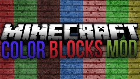 Flat Colored Blocks Mod 0