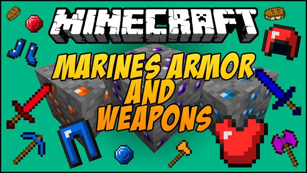 Marines Armor and Weapon Mod 0