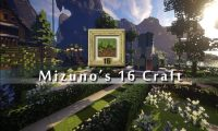 Mizuno's 16 Craft Resource Pack Logo