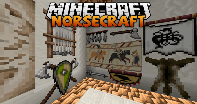 Lord Trilobite's Norsecraft Resource Pack logo