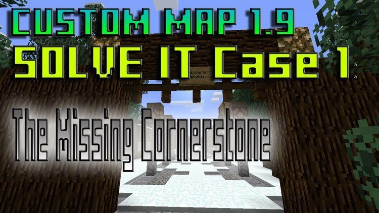 SolveIT Case 1 The Missing Cornerstone Map logo