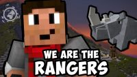 We are the rangers Map Logo