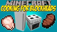 mod cooking for blockheads logo