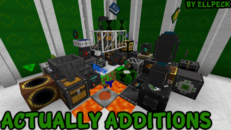 Actually Additions Mod Logo
