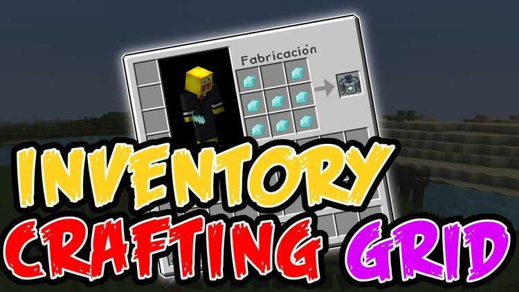 Inventory Crafting Grid Mod Logo