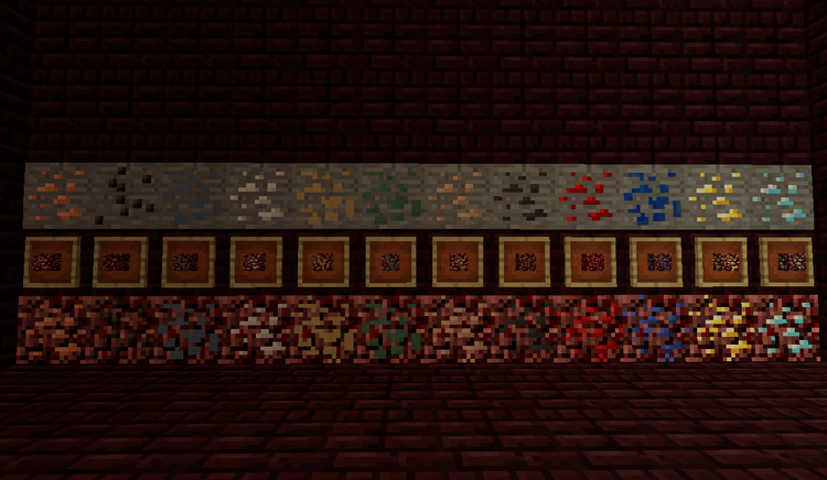 Nether Metals mod 01
