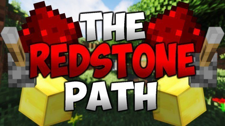 The Redstone Path map logo