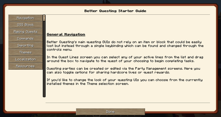Better Questing mod for minecraft 04
