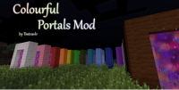 Colourful Portals Mod Logo