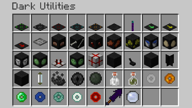 Dark Utilities mod for Minecraft 03