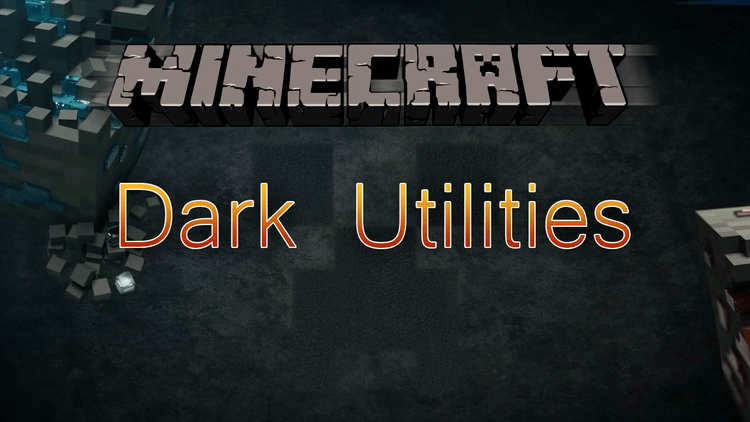 Dark Utilities mod for Minecraft logo