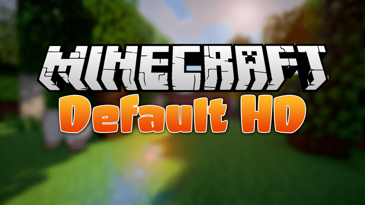 Default HD resource pack logo