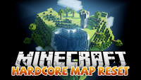 Hardcore Map Reset mod for Minecraft logo
