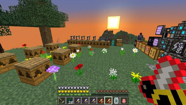 Magic Bees mod for Minecraft 03