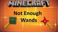 Not Enough Wand Mod for Minecraft Logo