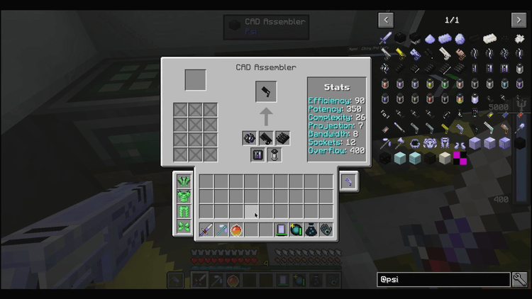 PSIonic Upgrades for Minecraft 01