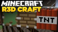 R3D CRAFT 64x  Resource Pack Logo
