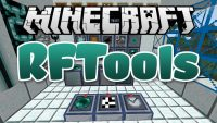RFTools mod for minecraft logo