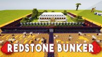 Redstone Bunker Map Logo