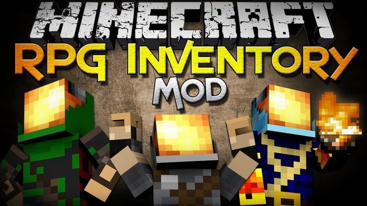 The RPG Inventory and ClassArmor Mod for Minecraft Logo