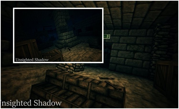 Unsighted Shadow Map for Minecraft 1