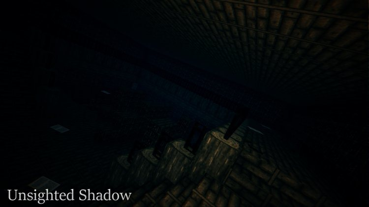 Unsighted Shadow Map for Minecraft 3