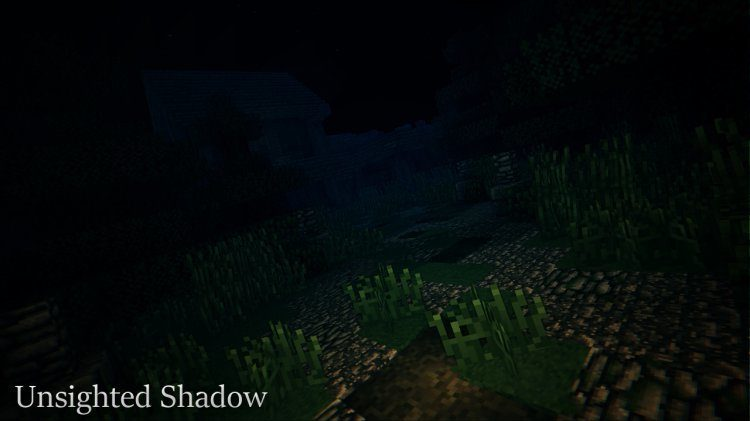 Unsighted Shadow Map for Minecraft 5