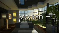 modern hd pack resourcepack for minecraft logo