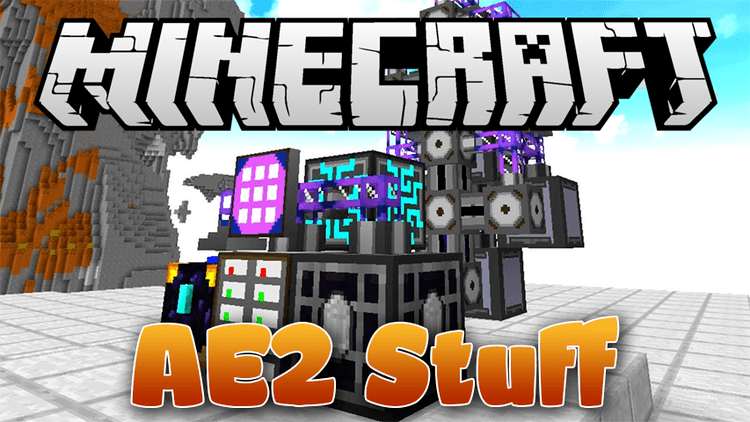 AE2 Stuff mod for Minecraft logo