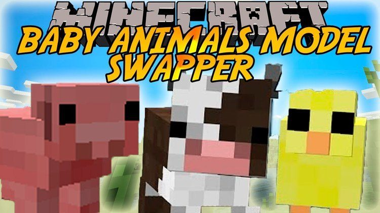 Baby Animals Model Swapper Mod Logo