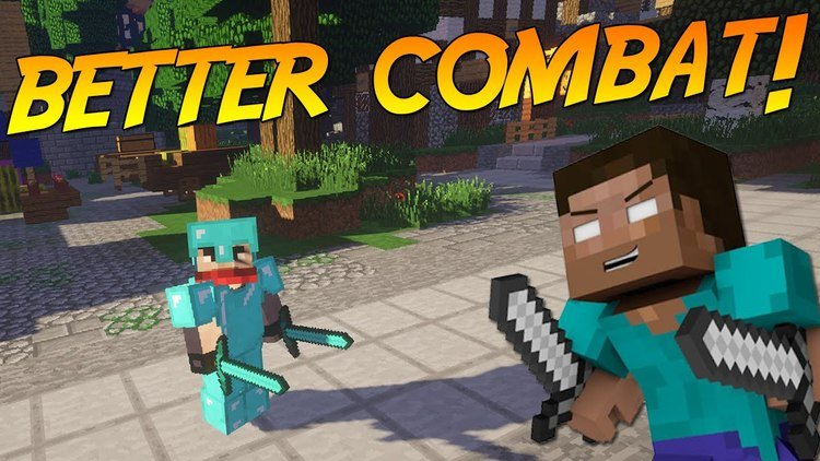 Better Combat Mod for Minecraft Logo