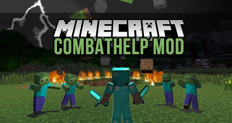 CombatHelp Mod for Minecraft Logo