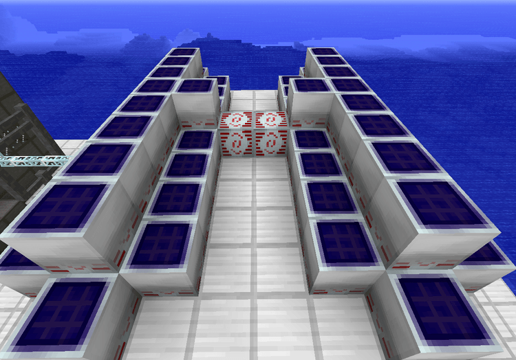 Compact Solars mod for minecraft 01