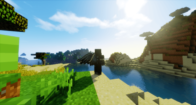 Cosmetic Wings Mod for Minecraft 3