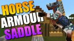 Craftable Horse Armour & Saddle Mod Logo