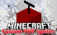 Custom TNT Igniter mod for Minecraft logo