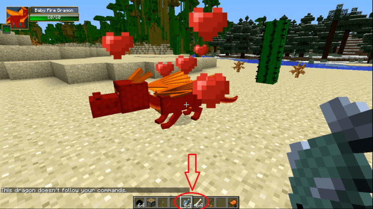 Dragon Mounts Mod Minecraft 8