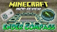 Ender Compass Mod for Minecraft Logo