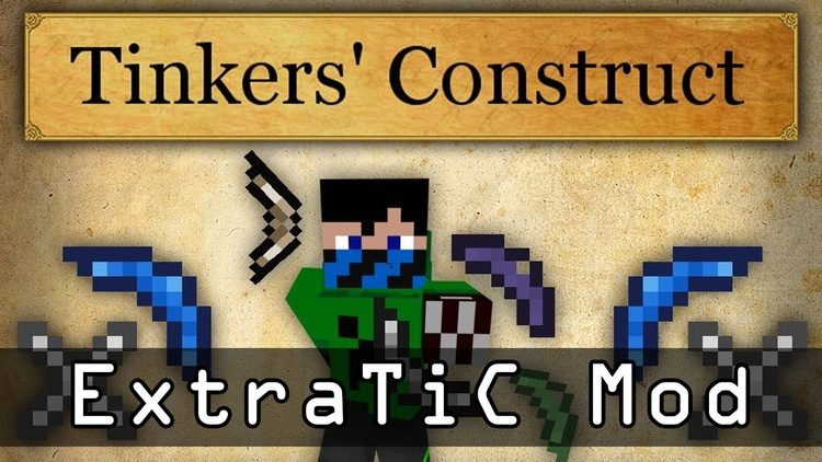 ExtraTiC Mod for Minecraft Logo