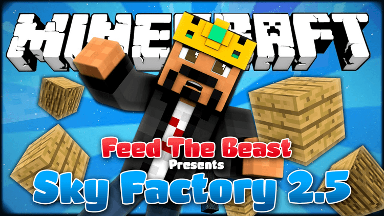 FTB Presents Sky Factory 2.5 Modpack logo
