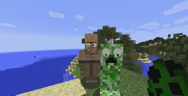 GooglyEyes Mod for Minecraft 2