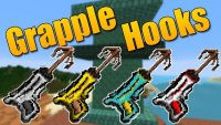 Grapple Hooks mod for minecraft logo