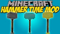 Hammer Time mod for minecraft logo
