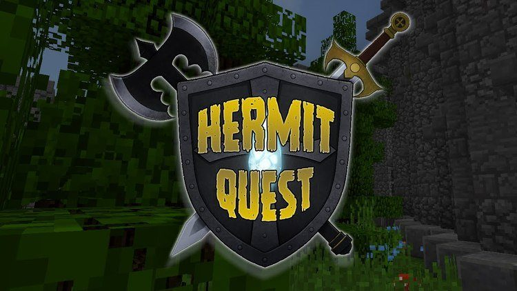 HermitQuest mod for minecraft logo